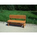 Dřevěná lavice 1,5 m