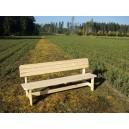 Přírodní lavice 2m