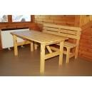 Přírodní stůl 1,5 m