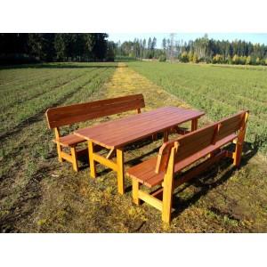 Zahradní sedací souprava 2 m
