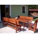Zahradní sedací souprava 2 m MAXI