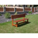 Dřevěná lavice 2 m