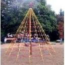 Lanová pyramida Střední